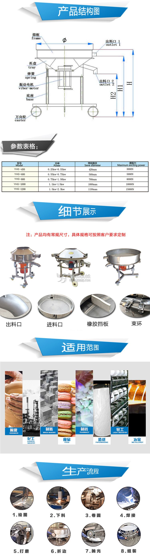 陶瓷油料高頻振篩(圖5)